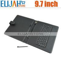 onda vi40 - Keyboard Leather Case for inch Tablet PC CUBE U9GT2 onda vi40 N90 Gemei G9 AMPE A90 SANEI N90 etc KC971001