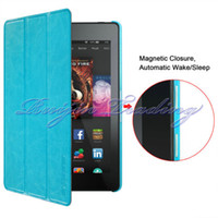 amazon hd quality - Newest Ultra High Quality Thin Slim Multi Function Leather Tablet Case For Amazon Kindle Fire HD