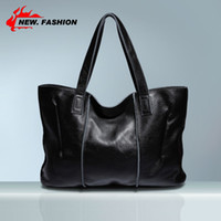 Cheap Wholesale-Hot Brand Newest Designer Fashion Handbag Genuine Soft Leather Shoulder Bags Women Tote Large Shopping Bag NO2438 Free shipping