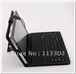Wholesale Colourful Portable Keyboard PU Leather Case for inch Tablet PC for Ainol Novo Venus Fire Flame Onda V711 Cube U25GT