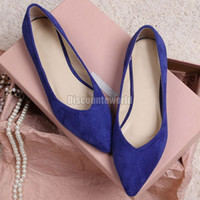 ballerina shoes - Summer Style Women Leopard Flats Pointed Toe Loafers Flats Ballet Ballerina leather Flat Shoes Color Size XW1