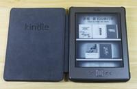 amazon kindle logo - Kindle leather case for Amazon kindle WIFI G with kindle logo