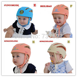 Wholesale-Baby safety products new arrival toddler hat double cap baby Helmet Toddler for learning walk Double Anti- soft comfatable