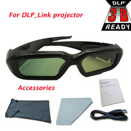 Wholesale ZX210ST EW762 HD33 HD83 model DLP Link Projector active shutter d glasses for optoma for acer dlp link projector home theatre