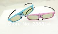 best dlp link glasses - Best D active shutter glasses HZ IR D DLP glasses for DLP LINK projector black color cool fashional glasses