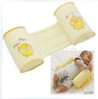 Wholesale New Baby Toddler Safe Cotton Anti Roll Pillow Sleep Head Positioner bebe orthopedic Anti rollover new newborn baby product
