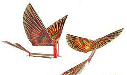 Wholesale by HK post pc Intelligence assembling model ornithopter Cordless kite Children s toys Hot selling