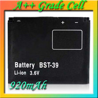 Wholesale BST BST39 Cell Phone Battery for Sony Ericsson C902 G702 R300 W380 W908 W910 Z555 T707