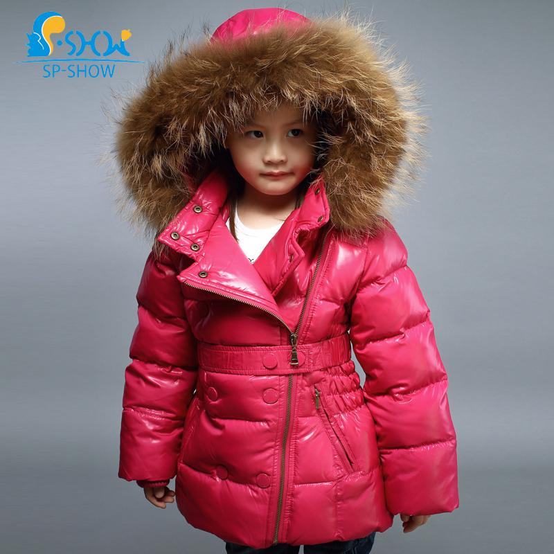 Wholesale Down&Amp;Parkas 2015 Winter Baby Snowsuit Girl Fur Hood ...