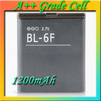 For Nokia Li-ion  BL-6F Cell Phone Battery for Nokia N95 N95-8G N78 N79