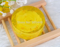 Cheap Wholesale-Handwork Natural Essential Golden Rose Oil Soap With Pure Gold Foil Revitalizing Skin Facial Bath Fast Delivery