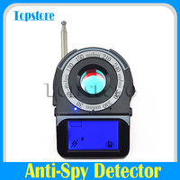 Wholesale Anti Spy Full Band Wireless Signal Detector Finder Bug Detection Hidden Camera