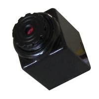 Precio de Noche carcasa de la cámara de visión-Envío Al por mayor-Libre, 520TVL de alta resolución Mini Ubicado Audio CCTV CMOS color noche visión cámara