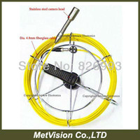 audio pipe - Pipe inspection system REAL color sewer pipe video audio inspection camera system promotion m cable with DVR drain camera