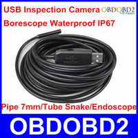 auto repair image - Quality A Auto Repair USB Industrial Endoscope Tube Snake Pipe mm LEDs Image format VGA QVGA USB Inspection Camera