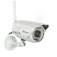 Wholesale P HD Sricam AP009 IP Camera Wifi Outdoor Motion Detection Video ip camera security cameraip camera wireless cctv camera