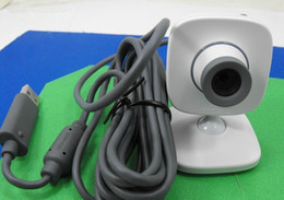 Wholesale-2 PCS PC Live Vision Video Game Camera Webcam -Web Cam USB For Xbox 360