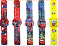 best kids digital watch - High quality stock minnie big hero pony monster high clap kids watch slap watch best gift for party
