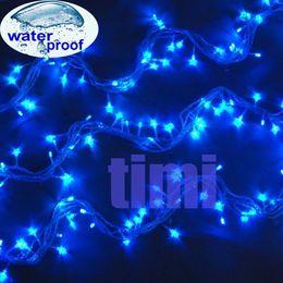 Wholesale V Australia Plug M Blue LED Christmas String Lights Xmas Fair Light For Outdoor Decorating