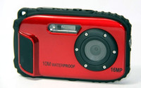 Precio de Camera underwater-Cámara digital de 16MP mayor-10m bajo el agua impermeable de la cámara + 8X Zoom + 2.7inch LCD Cámaras envío libre