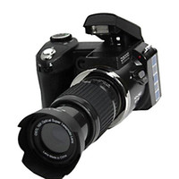 Wholesale D3000 MP HD Camera half DSLR Digital Cameras w x Telephoto amp Wide Angle Lens with gift bag