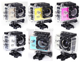 Wholesale Original gopro style digital camera SJ4000 profissional underwater Waterproof camera P go pro Wide Angle Free