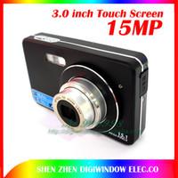 Wholesale Mega pixels digital camera inch Touch Screen X optical zoom X digital zoom Gift cameras