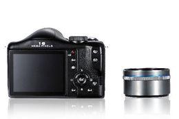 Wholesale Long Focus mega pixels digital SLR Camera DSLR camera with TFT display DC