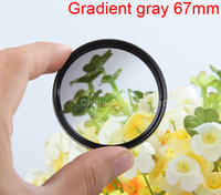 Cheap Wholesale-Green gradient gray filter 67mm for 60d 70d 600d 650d ef-s 18-135mm d5100 d3200 d5100 d90 85mm f 1.8g sx40 sx50 lens accessories