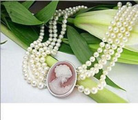 belle clasps - beautiful pearl necklace belle shell clasp