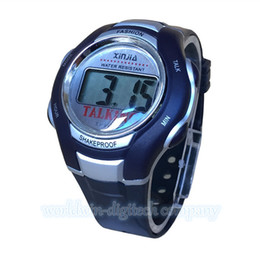 talking alarm watches online talking alarm watches for whole spanish language newest 2015 unisex talking watch for the blind and elderly electronic sports speak watches shipping