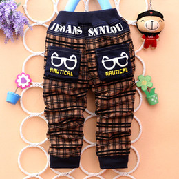 2015 new kids cool and fashion pants cartoon style children jeans popular baby jeans for boys casual pants J024