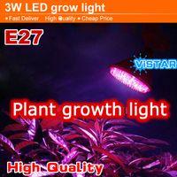 Wholesale 3W W LED Plant growing lamp light Epistar LED E27 V V V red blue growth light