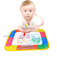 Wholesale Best Price x cm Water Drawing Toys Mat amp amp Magic Pen Water Drawing Board Baby Play Learning amp Education Toys
