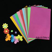 art foam sheets - EVA Foam Diy Art Paper Craft for Diy Gifts Decor Kids Toys Sponge Paper Sheet cm mm thickness colors