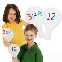 art mat board - Erasable blank board Answer board Draw mat Art toys Kids toys Teach your own Kids center supplies x13 cm