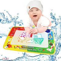 aqua play mat - High Quality x cm Aqua Doodle Water Drawing Toys Mat amp Magic Pen Water Drawing Board Baby Play Educational Toy