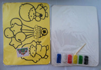 art supplies drawing sale - on sales DIY sand art kits children s color sand painting kit X21CM school supplies
