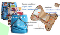 Wholesale 2015 quot New Happy flute Heavy Wetter AI2 Washable Baby Cloth Diaper for