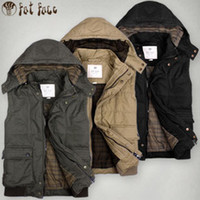 sleeveless hoodie - Men Tactical Military Vest Coats High Fashoin Brand Cotton Winter Vest Casual Mens Sleeveless Hoodie Short Down Jacket Waistcoat