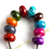 acrylic beads - 100 Mixed Assorted Acrylic Charms Beads Hot Acrylic Beads Diy Bead Fit Bracelet And Necklace