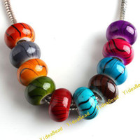 Wholesale 250 Mixed Assorted Hot Acrylic Beads Acrylic Charms Beads Diy Bead Fit Bracelet And Necklace