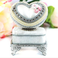 Wholesale Cool Gift Artisan s House Real Pigeon Egg Casket Music Box