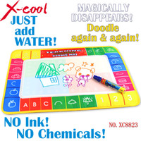 Wholesale x30cm Xc8823 color Water Drawing board with magic pen Aquadoodle MatWater Drawing board baby play mat