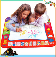 aqua sand - Aqua Doodle Children s water drawing toys Mat Magic Pen Educational Toy Baby Learning Educational Toy cm