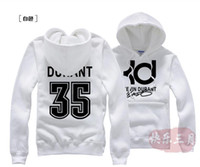 basketball jackets - sudaderas hombre Cotton Flax Kevin Durant KD basketball jacket hedging hedging Fitness Shirts hooded casual men brushed hoodies