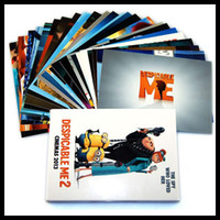 Wholesale 24 set Movie Despicable me minion Postcards Greeting Cards Kids Friends Birthday Christmas Gift Top Quality