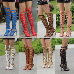 Discount Tall Gladiator Heels | 2017 Tall Gladiator Heels on Sale ...
