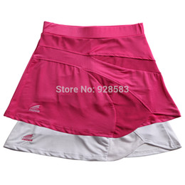 Wholesale Women s Sports Solid Thin Breathable Short Skirt With Underpants Lady s Tennis Skirts With Pocket