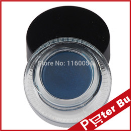 Wholesale new Indigo Blue Gel Eyeliner Waterproof Make Up gel Cosmetics Eye Liner Makeup Eye EG13